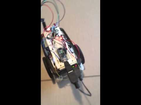 2.0: LM303DLHC MEMs Compass Bearing Tracking Robot