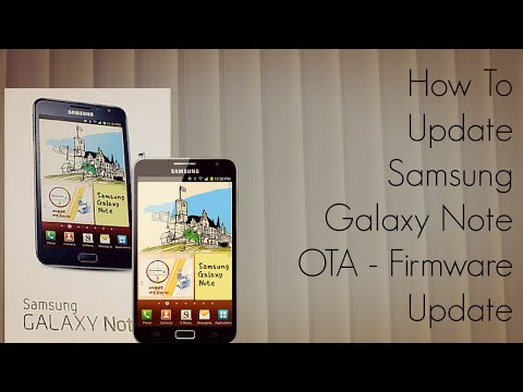 How to Update Samsung Galaxy Note N7000 OTA - Wi-Fi Firmwave - PhoneRadar