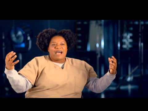 Adrienne C  Moore   Black Cindy  Interview from Orange Is The New Black