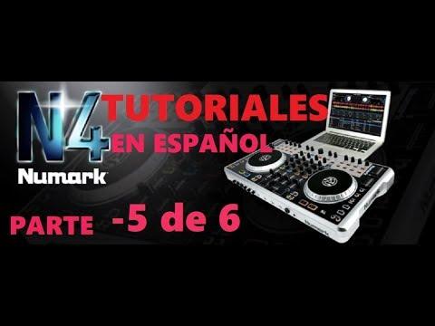 Tutorial manejo de un mixer y controlador Numark N4 parte 5-comienso desde cero para principiantes