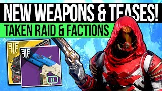 Destiny 2 News | AWOKEN WEAPONS & RAID TEASES! New Exotic Synergy, Faction Units & Double Perks