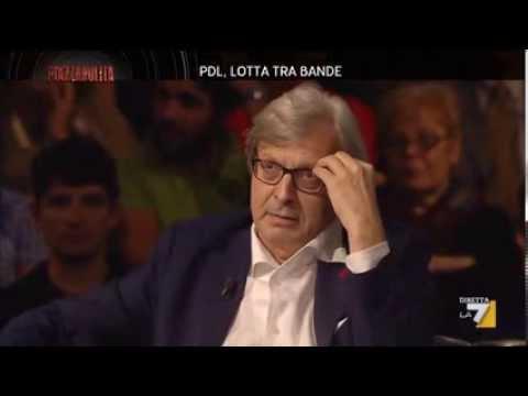 Sgarbi show a Piazzapulita La7 (7/10/2013)