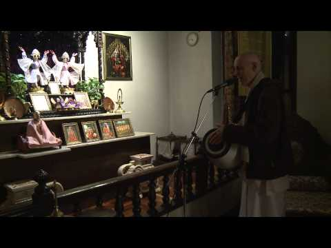 2012.11.05. Mangala Arati Hg Sda Iskcon Kaunas Lithuania video