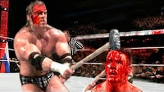 Bloodiest WWE Match | John Cena vs Batista Over the Limit 2010