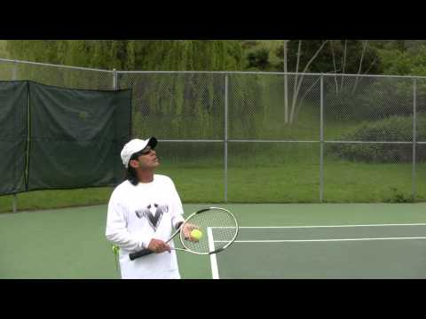 Tennis Training: Secrets To A Consistent Ball Toss! Pt.2