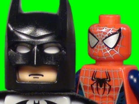 The lego batman spider man movie 2 youtube - Spiderman batman lego ...