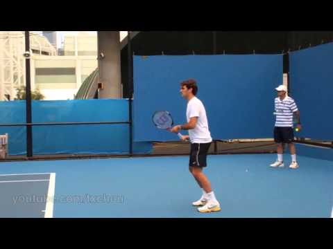 Roger Federer - Slow Motion Forehands in HD
