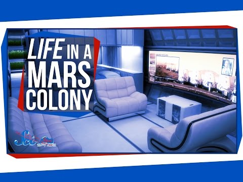 Life in a Mars Colony