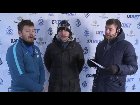 Победа-АРМЕД - ФК КФ. Зимнее первенство Санкт-Петербурга. 3 матч