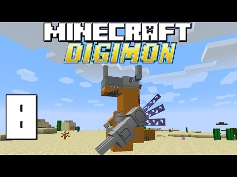 Minecraft Serie Digimon! Capitulo 8! video