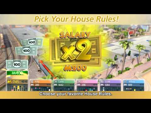 Launch trailer Monopoly on consoles - Hasbro Game Channel [EUROPE]
