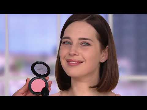 bareMinerals Gen Nude Powder Blush Duo with Brush on QVC