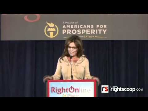 Palin - RightOnline Conference: Matt Drudge