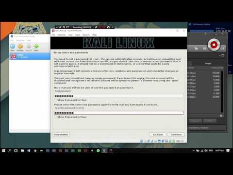 simple install kali linux tutorial 2017