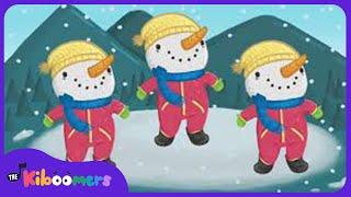 Winter Hokey Pokey    Winter Songs for Kids   The Kiboomers