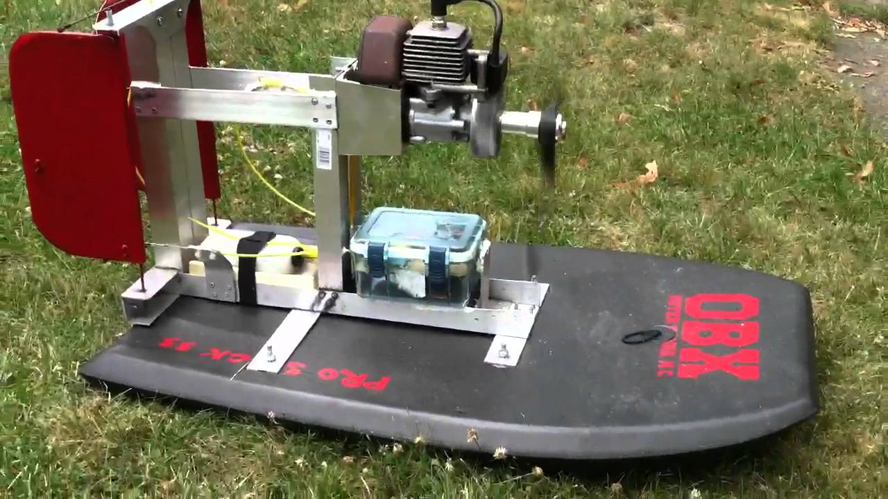 Boogie board airboat engine start youtube for How to build an airboat motor
