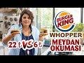 Burger King - Whopper (Challenge) Meydan Okuması | Evde Daha Hesaplı Whopper Tarifi