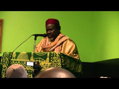 Cheikh Tidiane Cisse Khutba in Atlanta 14 Jan 11