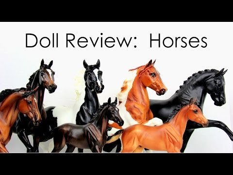Doll Review: Horses   Plus Quick Craft: Riding Crops