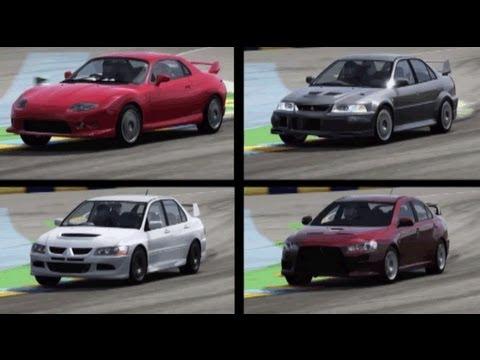 [Forza4] Mitsubishi FTO.Lancer Evolution