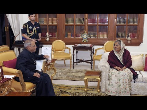 Agriculture Minister of Bangladesh calls-on the President - 07-11-12
