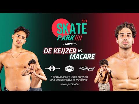 Game of SKATEpark 2020 - Game #10 - Douwe Macare vs Jay de Keijzer
