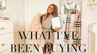 WARDROBE UPDATE! WHAT I'VE BOUGHT RECENTLY