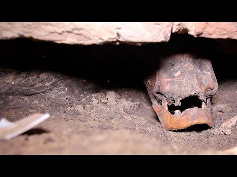 Подземелье Гостиного двора в Харькове: останки и старинные находки