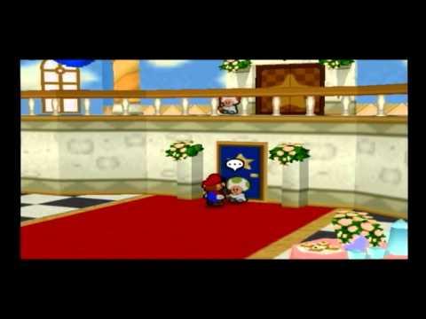 【小ネタ】マリオストーリー ピーチ姫の部屋に強引に入る