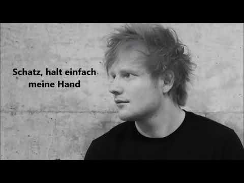 Ed Sheeran - Perfect (Deutsche Übersetzung)