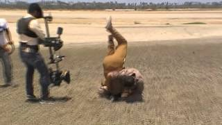 Mankatha - silva stunts MANKATHA making of intro fight
