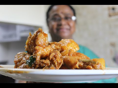 chicken potato curry || Indian Chicken Curry Beginners Recipe ||english subtitles|| grandma recipies