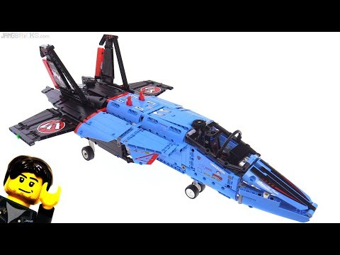 LEGO Technic Air Race Jet 42066 review!