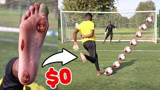 0$ BAREFOOT FOOTBALL BOOTS - I sprained my toe??
