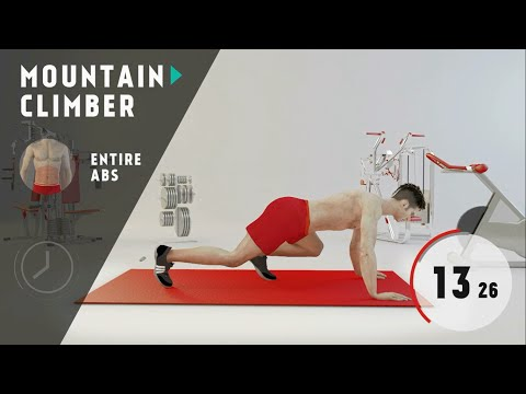impossible six pack abs workout - Level 2