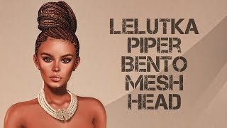 LeLutka Piper Bento Mesh Head in Second Life