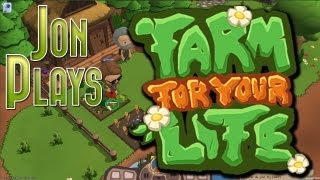 Farm For Your Life! New Zombie Tower Defense Indie Game! Gameplay Walkthrough Part 1