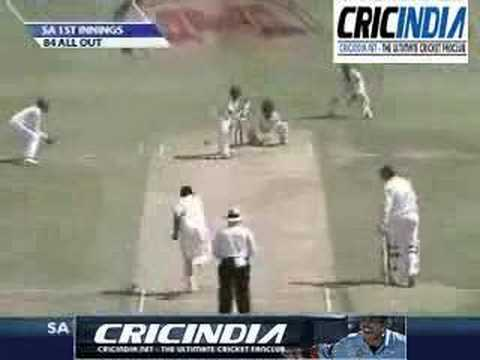 India vs South Africa Test 1 Day 2 - Wickets