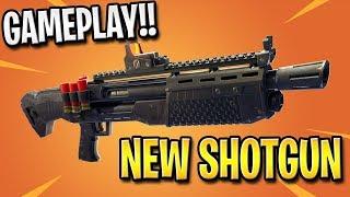 NEW FORTNITE SHOTGUN UPDATE GAMEPLAY!! - Fortnite: Battle Royale   TBNRKENWORTH