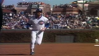 1984 NLCS Gm1: Sutcliffe helps his own cause