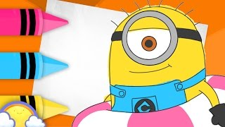 How to Draw a Minion #2! | Drawing Video for Kids | CheeriToons