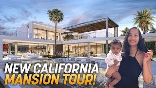 NEW CALIFORNIA HOUSE TOUR!! ($4,000,000 MANSION)