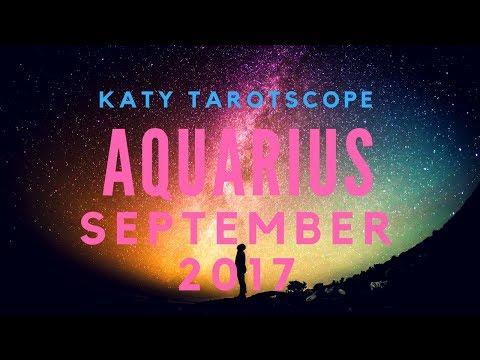 AQUARIUS THE WAIT IS OVER! September 2017 Tarot Reading | Katy Tarot
