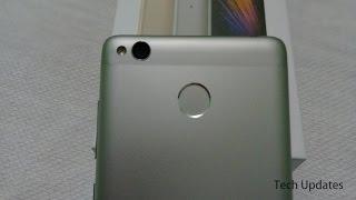 Xiaomi Redmi 3s Prime Fingerprint Scanner Working
