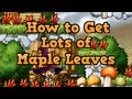 How to get 8th Anniversary Maple Leaves!