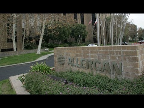 Allergan Slides Following Rejection of Valeant Takeover Bid