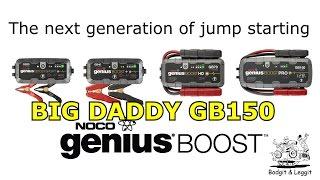 Noco Genius Boost Pro GB150 Lithium Jump Starter  Bodgit And Leggit Garage