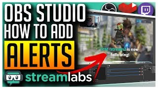 ✅ OBS Studio - Adding Alerts for Follower, Subscriber, Donation