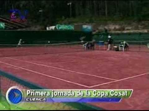 Inicio COSAT de tenis en Cuenca