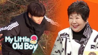 Jin Young's Sister Should be Trained by Jong Kook [My Little Old Boy Ep 122]